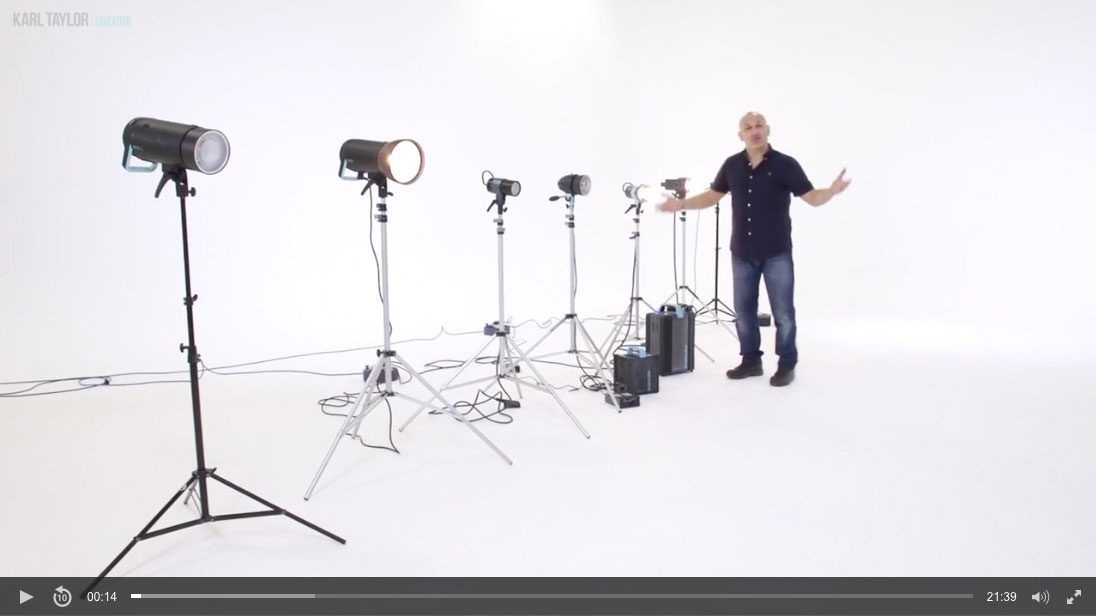 02. Types of studio lighting