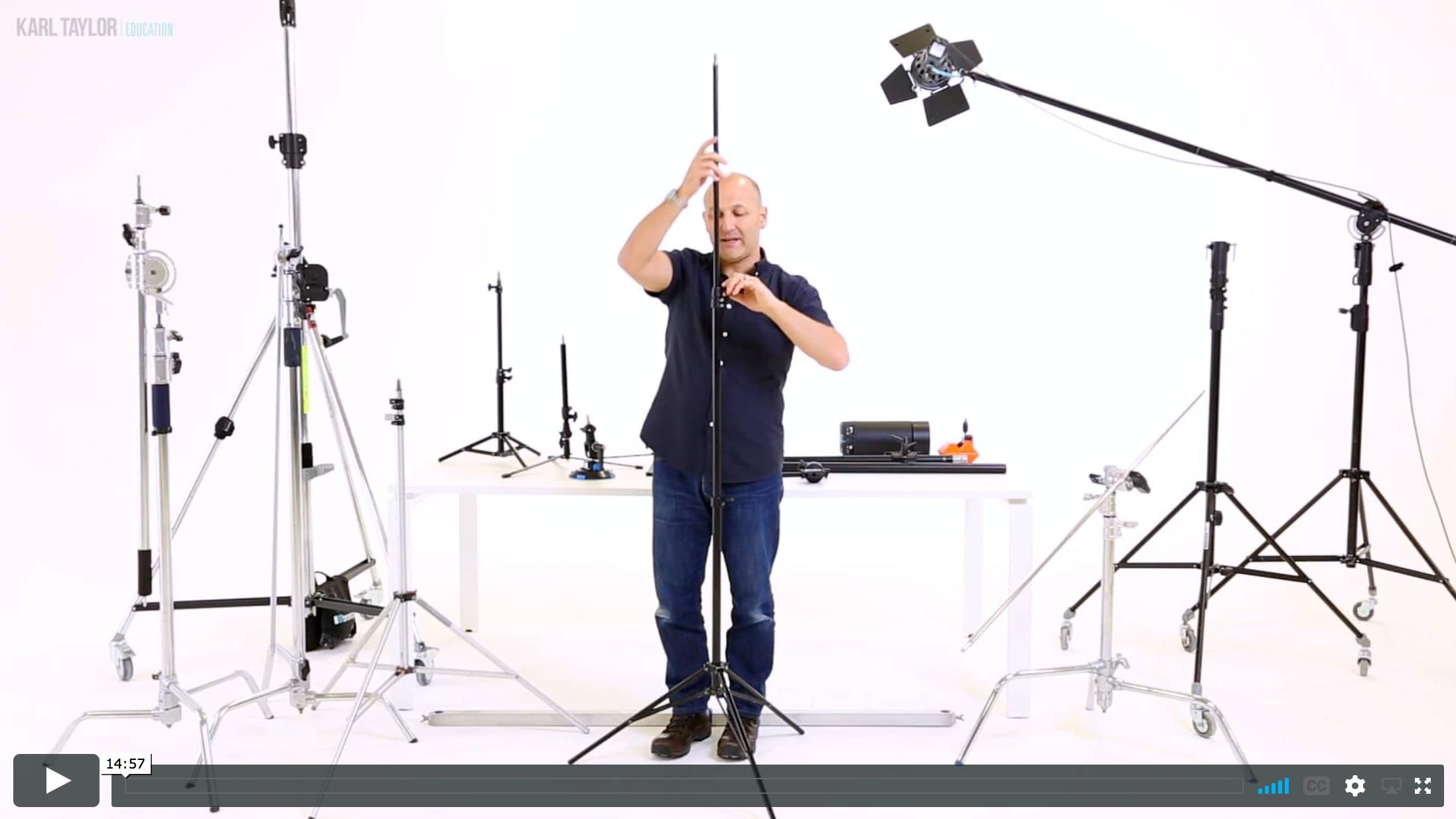 09. Lighting stands and supports