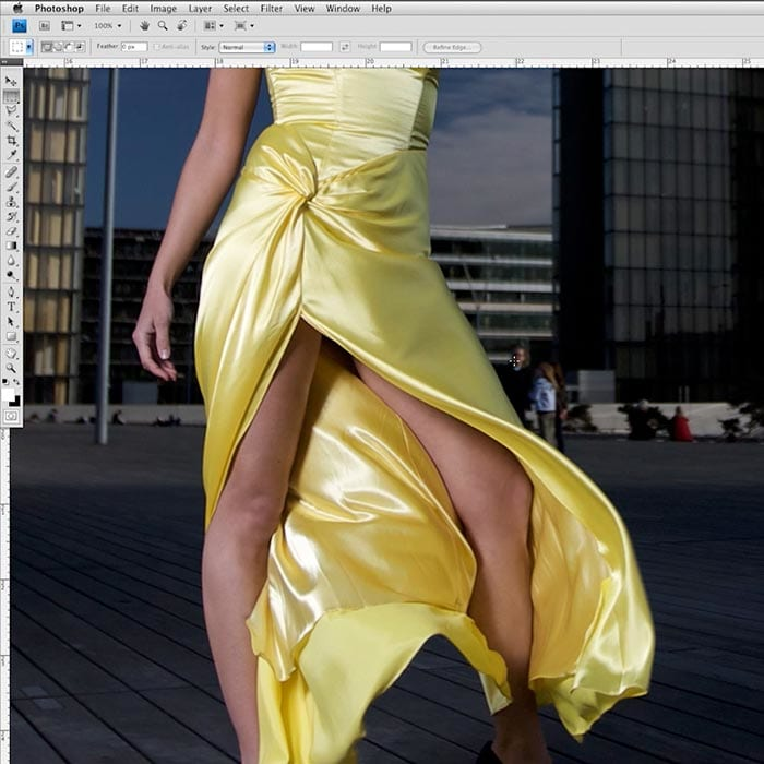 Fashion shot objects removal