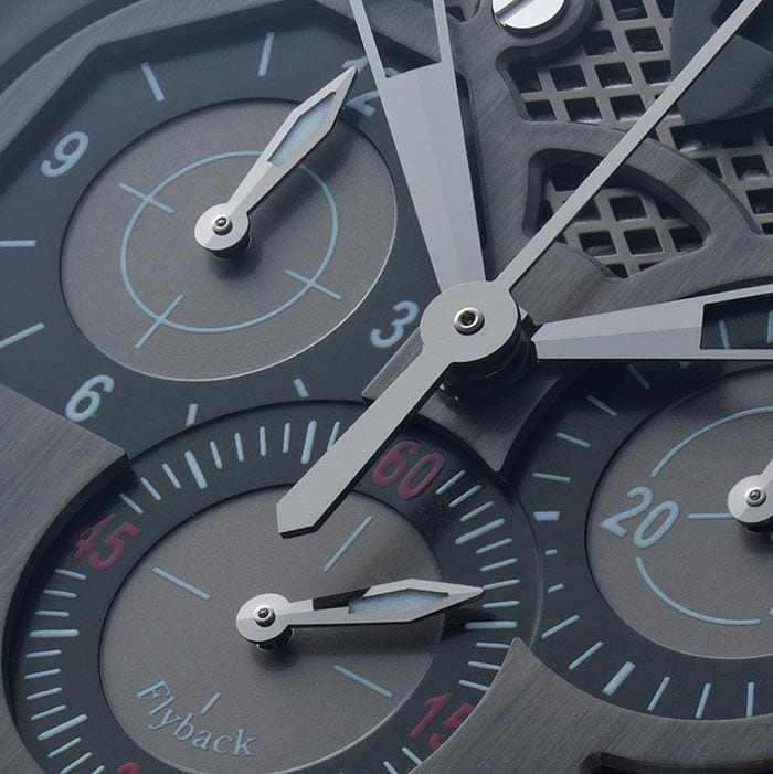 Luxury watch photography with retouching