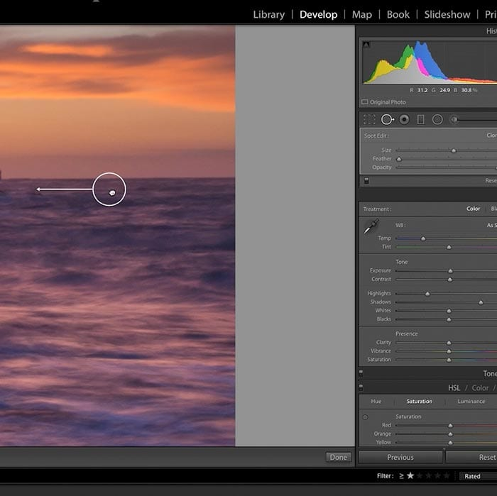 Processing raw images