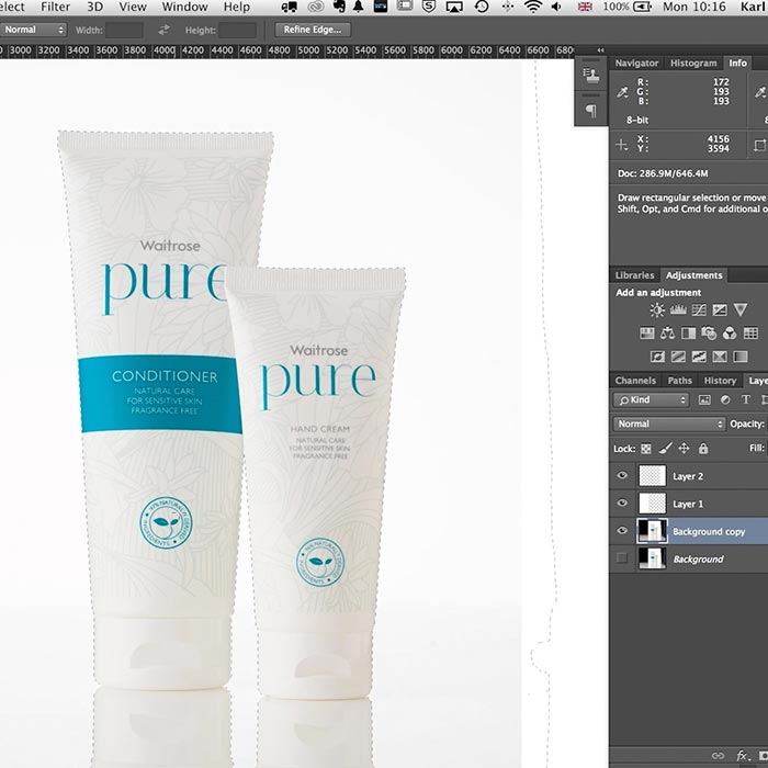 08. Practical demonstration on product retouch