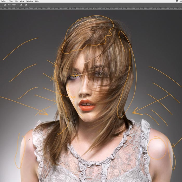 Hair sweep lighting walkthrough