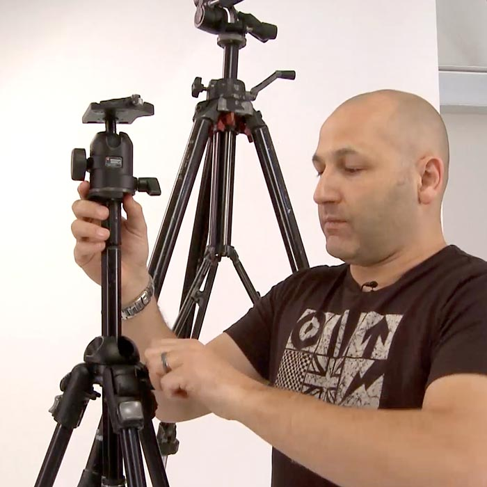 Tripods and maintenance