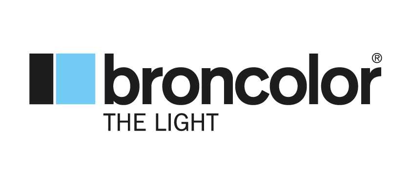 Broncolor the light - logo