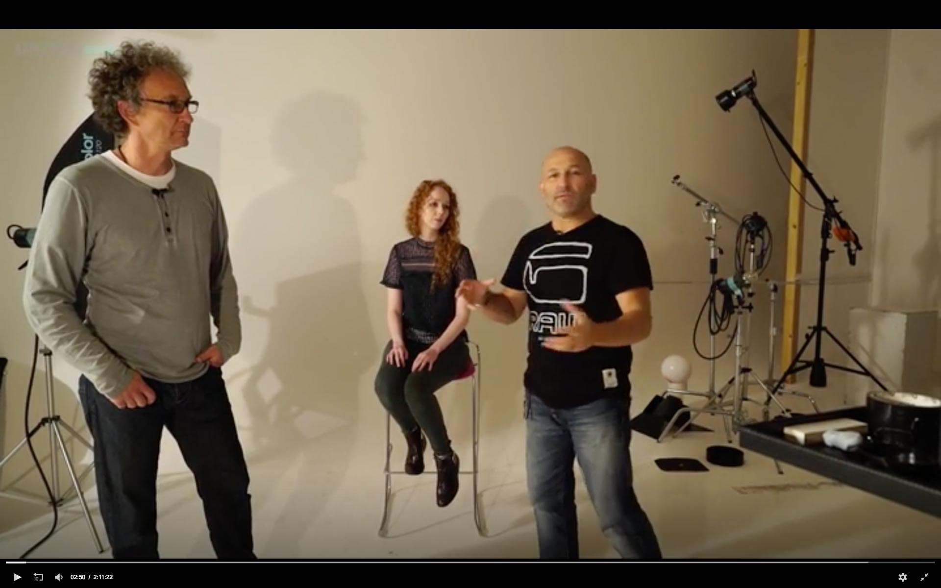 Live Workshop – broncolor 'How-To' with Urs Recher