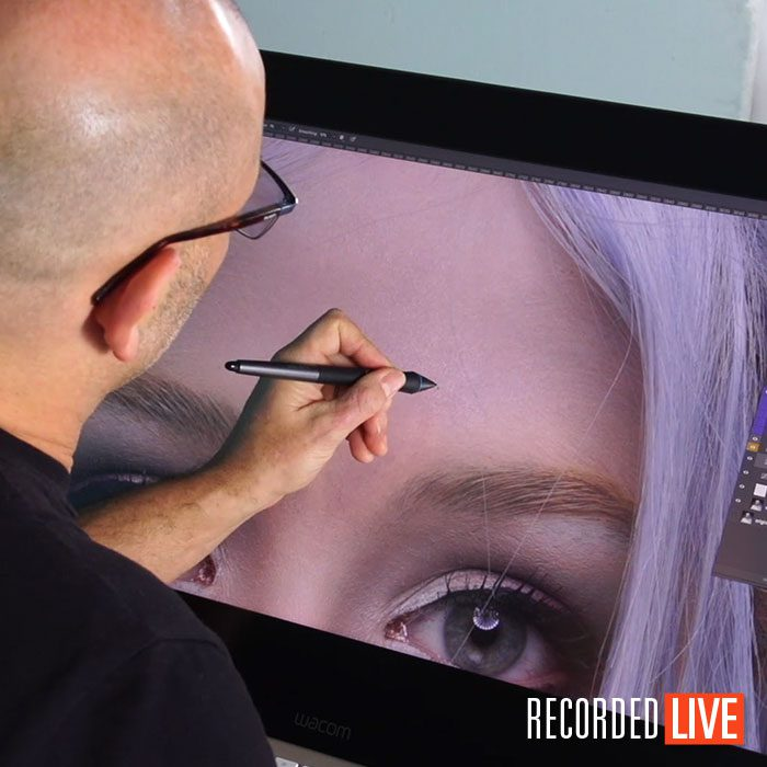 Live Workshop – Beauty Retouching in Photoshop