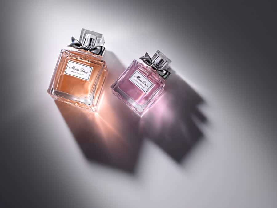 Dior Perfume Bottle Photography