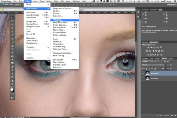 Photoshop for photographers class