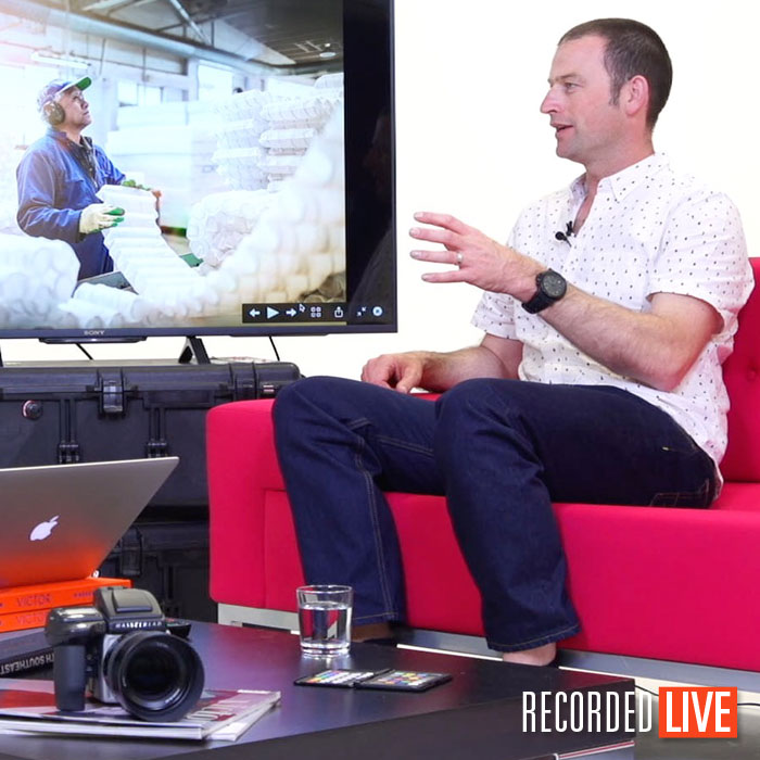 Live Talk Show – Commercial Photographer Alex Wallace