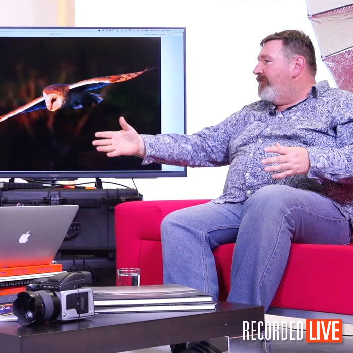 Live Talk Show – Nature Photographer Chris Bale