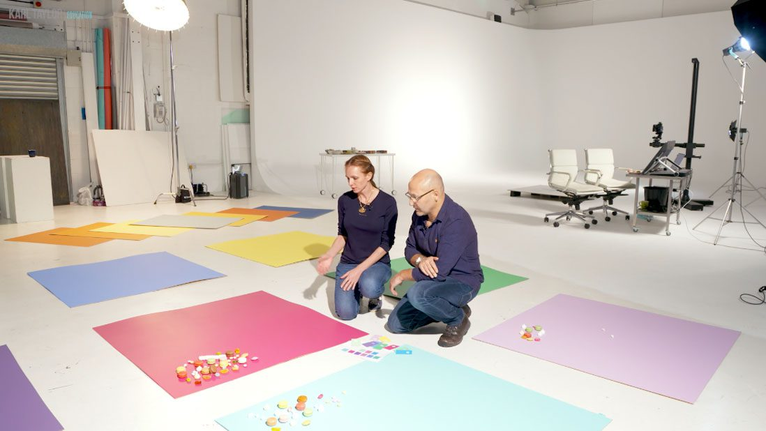 Photographing candy using color theory