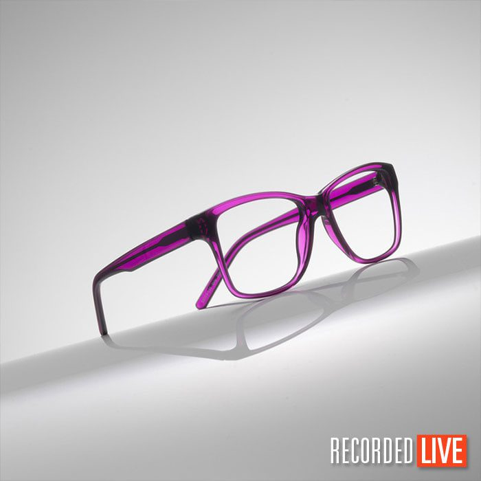 Glasses Product Photograph