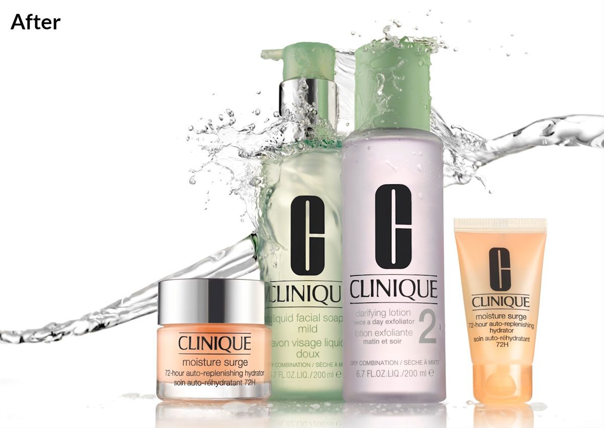 Clinique logos example