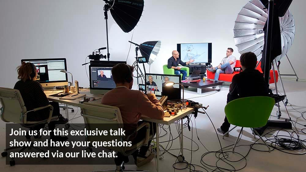 Live photography talk shows