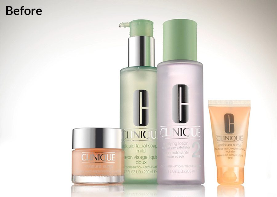 Clinique product photo example