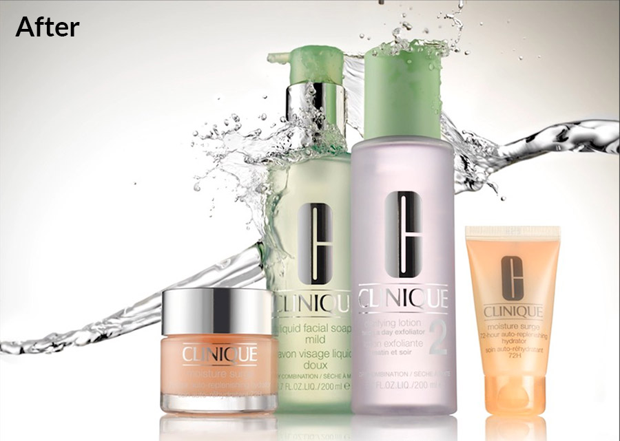 Clinique product splash image