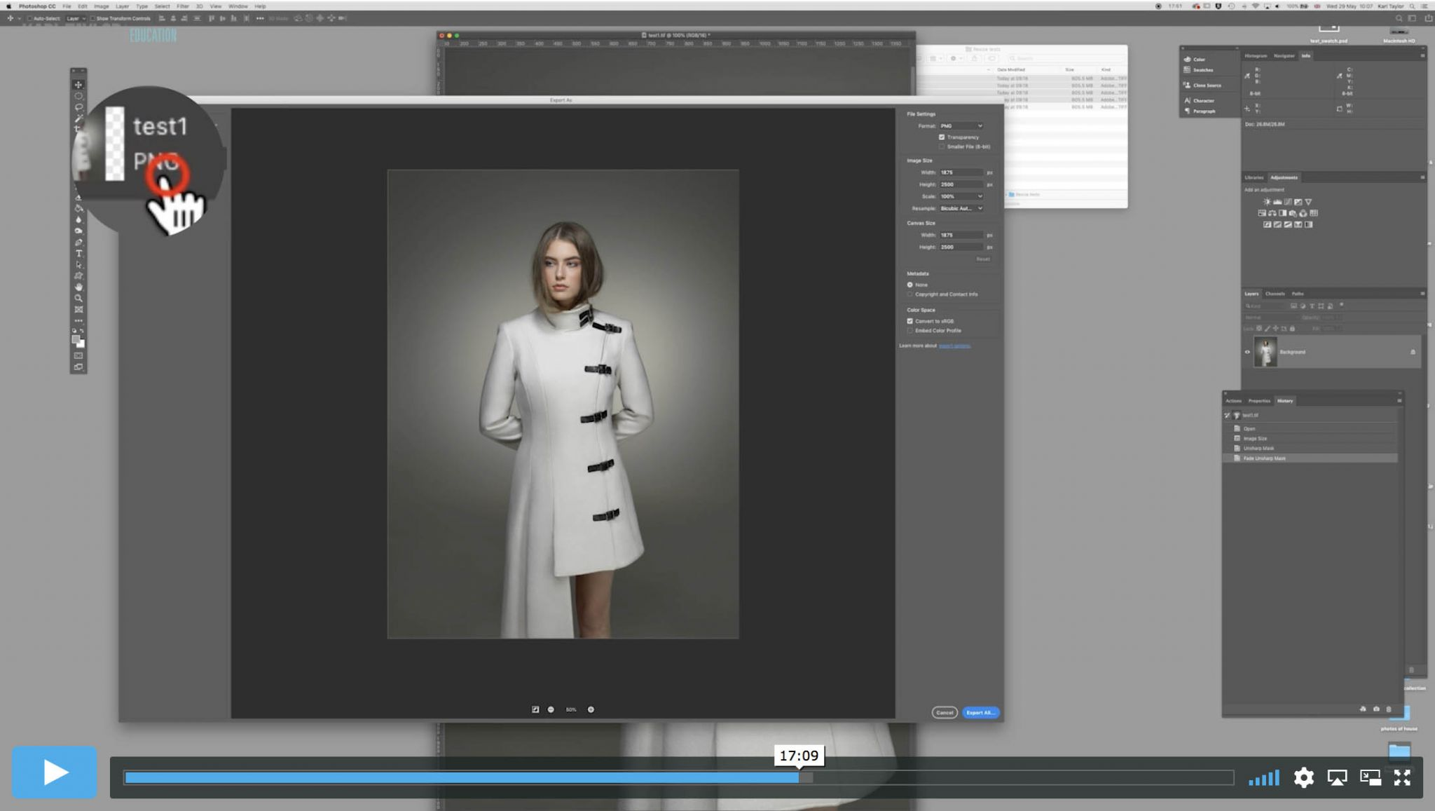 Preparing your images for web